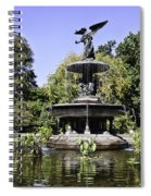Bethesda Fountain Iv - Central Park Spiral Notebook