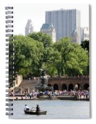 Bethesda Terrace And Fountian Nyc Spiral Notebook