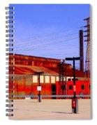 Bethlehem Steel Buildings Spiral Notebook