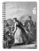 Betsy Doyle A Soldiers Wife Helping Spiral Notebook