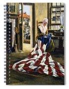 Betsy Ross (1752-1836) Spiral Notebook
