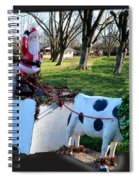 Betsy The Red Nose Moo-cow Spiral Notebook