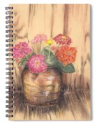Betsy's Flowers 2 Spiral Notebook