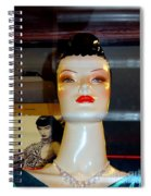 Bettie Page Lives Spiral Notebook