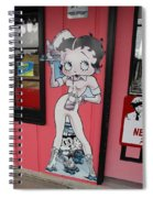 Betty Boop 3 Spiral Notebook