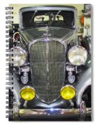 Betty Boop And Her Big Headlights Spiral Notebook