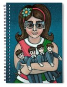 Betty Jeans Beatles Spiral Notebook