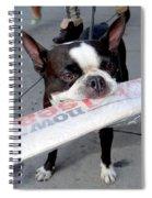 Betty The News Dog Spiral Notebook