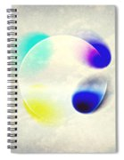 Between Clouds Digital Art Spiral Notebook