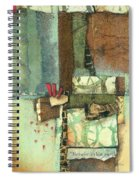 Between The Earth  Spiral Notebook