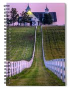 Between The Fences Spiral Notebook