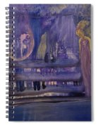 Between The Layers Spiral Notebook