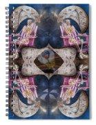 Between Time Spiral Notebook