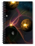 Betwixt 2 And 4 Spiral Notebook