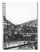 Bever Creek Skating Rink Spiral Notebook