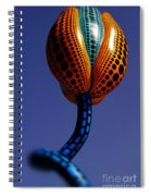 Beverly Hills Hymns Of Tulips Sculpture By Diana Sainz Spiral Notebook