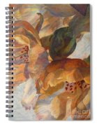 Bev's Blossoms Spiral Notebook