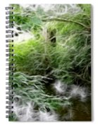 Phallic In The Grass Spiral Notebook
