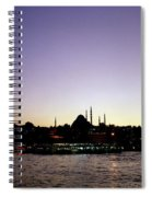 Bewitching Istanbul Spiral Notebook