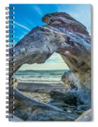 Beyond The Beach Spiral Notebook