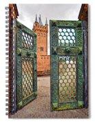 Beyond The Courtyard Gate Spiral Notebook