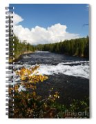 Beyond The Falls Spiral Notebook