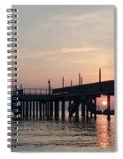 Beyond The Last Horizon Spiral Notebook