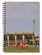 Bgsu Doyt Perry Stadium 3285 Spiral Notebook