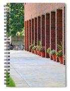 Bgsu East Hall Flowers 3278 Spiral Notebook