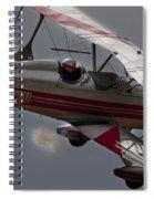 Bi Plane Spiral Notebook