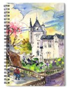 Biarritz 01 Spiral Notebook