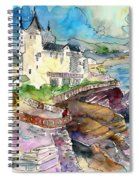 Biarritz 02 Spiral Notebook