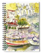 Biarritz 11 Spiral Notebook