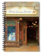 Bibbidi Bobbidi Boutique Fantasyland Disneyland Spiral Notebook