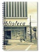 Biblioteca Cubana Spiral Notebook