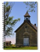 Bichet School In Marion County In Kansas Spiral Notebook