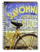 Bicycle 01 Spiral Notebook