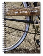 Bicycle Gears Spiral Notebook