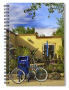 Bicycle In Santa Fe Spiral Notebook