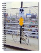 Bicycle Memorial Spiral Notebook