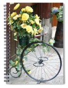Bicycle Plant Holder Spiral Notebook