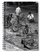 Bicycle Repair In Amarapura Spiral Notebook