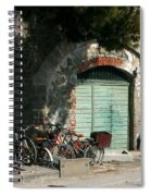 Bicycle Stop Spiral Notebook