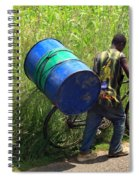 Bicycle Strain Spiral Notebook