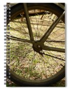 Bicycle Tire Spiral Notebook