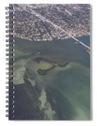 Bidr's Eye View Of Beautiful Miami Beachfront Spiral Notebook