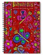 Bienvenidos Spiral Notebook