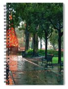 Bienville Christmas Tree Spiral Notebook