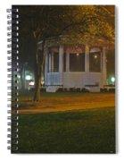 Bienville Square Grandstand In A Foggy Mist Spiral Notebook
