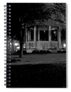 Bienville Square Grandstand Posterized Spiral Notebook